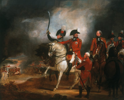 King George III and the Prince of Wales Reviewing the 3rd (or The Prince Of Wales's) Regiment of Dragoon Guards and the 10th (Or The Prince Of Wales's Own) Regiment of (Light) Dragoons, 1797 (c)