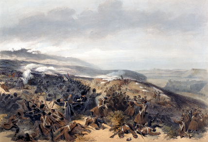 The Battle of Inkerman, 1854