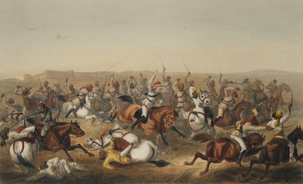 Hodson's Horse at Rhotuck, 1857