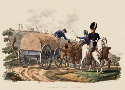 Royal Artillery Drivers, 1812