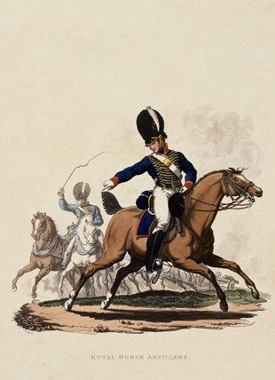 Royal Horse Artillery, 1812