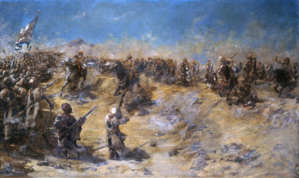 Charge of the 21st Lancers at Omdurman, 2 September 1898