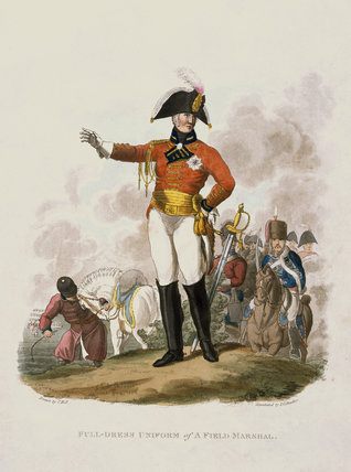 Full-dress uniform of a Field Marshal, 1812
