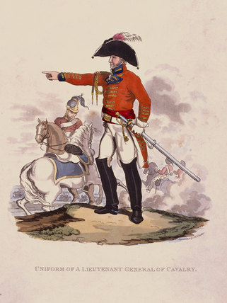 Uniform of a Lieutenant General of Cavalry, 1812