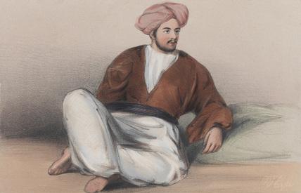 Lieutenant J C Haughton, 1842