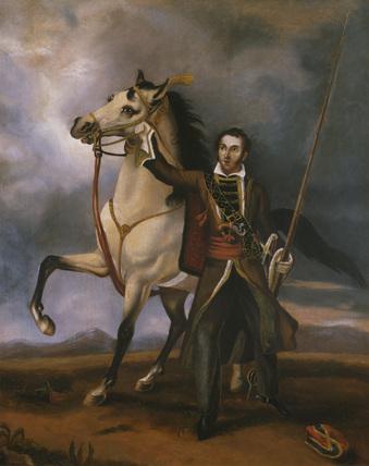 Lieutenant Charles Swanston, Poona Irregular Horse, 1819 (c)