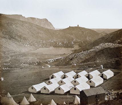 View south looking towards Balaklava, 1855