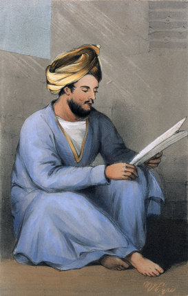 Captain Johnstone, Shah's Service, 1842