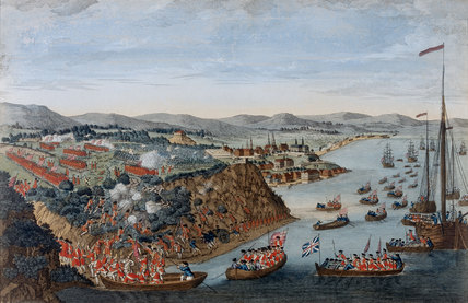 The Taking of Quebec, 13 September 1759