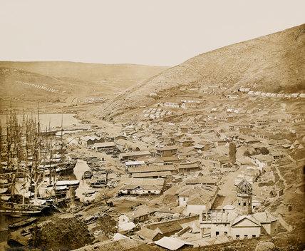 Balaklava looking north, 1855