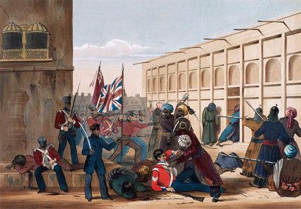 Storming of Khelat, 1st Afghan War, 1839