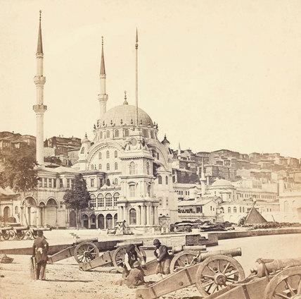 Mosque of Kohhanna, Constantinople, 1855 (c)