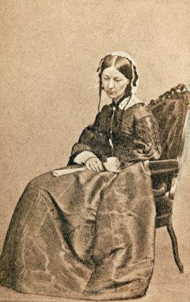 Florence Nightingale, 1860 (c).