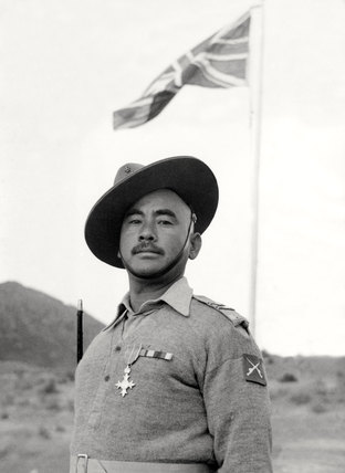 Subedar Dahn Suba Gurung, 3rd Queen Alexandra's Own Gurkha Rifles, 1944