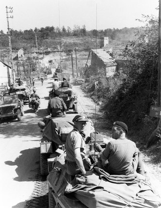Recce party, Normandy, 1944