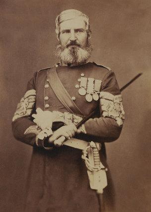 Sergeant-Major Edwards, Scots Fusiliers Guards, 1856