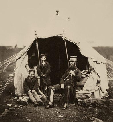 Lieutenant-Colonel Studholme Brownrigg, 1855