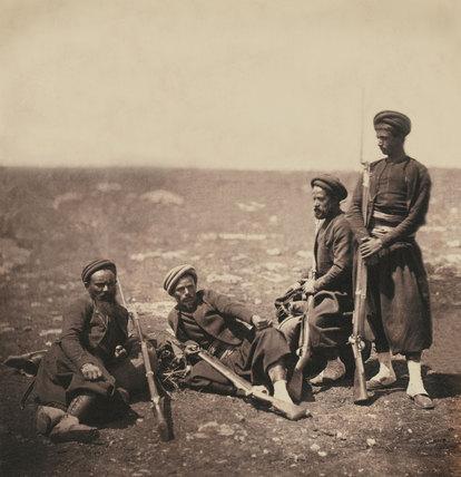 Zouaves, 1855