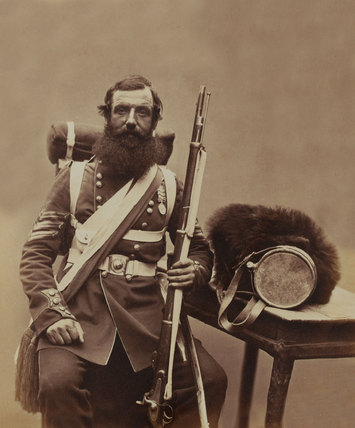 Sergeant Knapp, Coldstream Guards, 1856