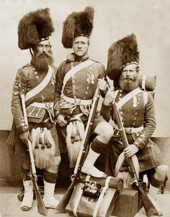 Gardner, McKenzie, Glen, of the 42nd (The Royal Highland) Regiment of Foot, 1856