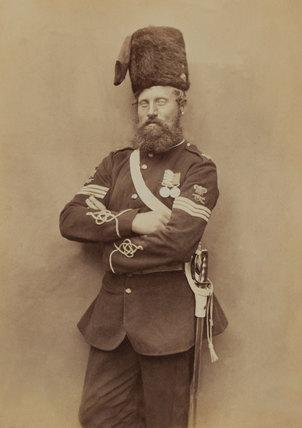 Sergeant Glasgow, Royal Artillery, 1856