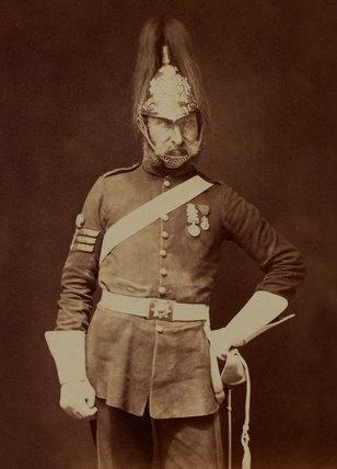 Sergeant-Major Stewart, 5th (Princess Charlotte of Wales's) Dragoon Guards, 1856