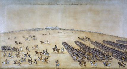 The 1st Regiment of Skinner's Horse, 1828