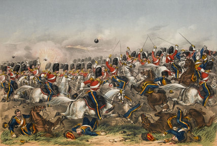 Charge of the Heavy Brigade, Balaklava, 1854