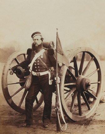 Sergeant William Russell, Royal Artillery, 1856