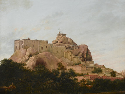 The Rock and Temple of Trichinopoly, 1801
