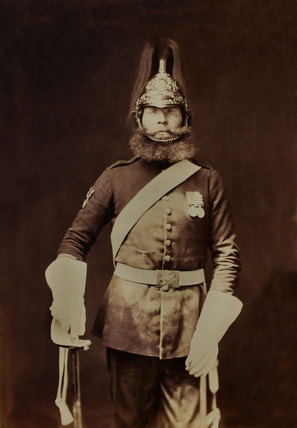 Rough-rider Macnamara, 5th (Princess Charlotte of Wales's) Dragoon Guards, 1856