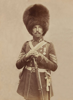 Sergeant William Powell, 1st (or Grenadier) Regiment of Foot Guards, 1856
