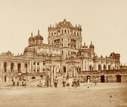 La Martinière, Lucknow, 1858
