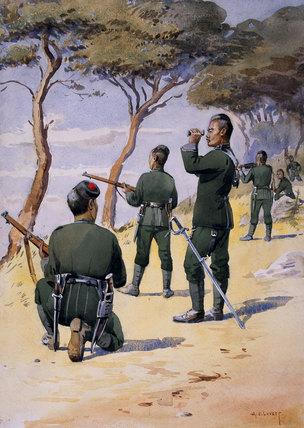 6th Gurkha Rifles, 1908 (c).