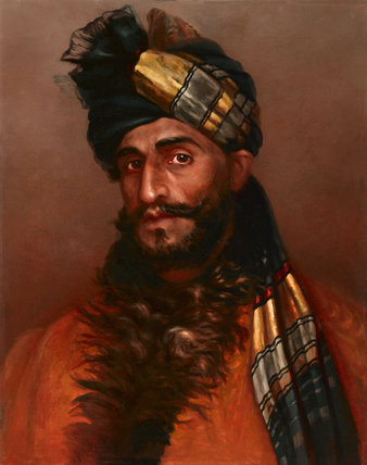 A Pathan sowar, 23rd Cavalry (Frontier Force), 1908 (c)