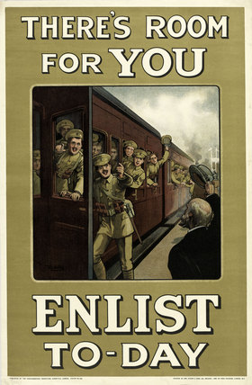 'There's Room for You. Enlist To-Day', 1914