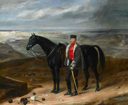 Lieutenant-Colonel Straton, 77th (The East Middlesex) Regiment of Foot, 1855 (c)