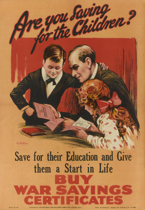 'Are you saving for the Children? Buy War Savings Certificates', 191