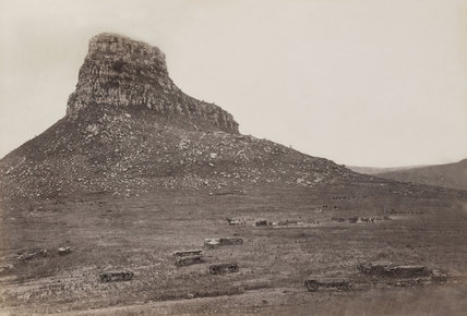The battlefield of Isandlwana, 1879