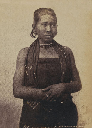 Burmese woman, 1852 (c)