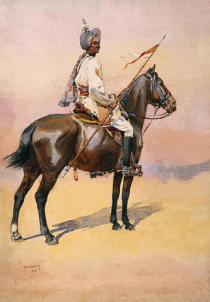 A Ratore Rajput of the Jodhpur Lancers, 1910