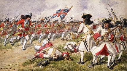 The Battle of Ramillies, 20 May 1706