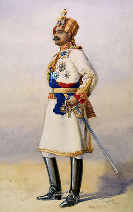 Hon Colonel Maharaja Sir Ganja Singh, Bahadur of Bikaner, 1908