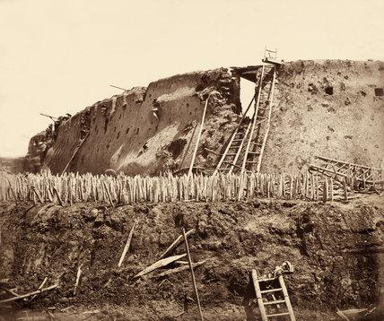 The North Taku Fort, China, 1860