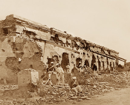 General Wheeler's entrenchment at Cawnpore, March 1858
