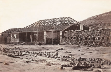 'Rorke's House Front View, Buffalo River', 1879