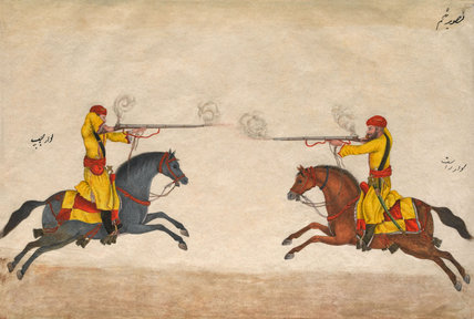 Hindustani Musket Cavalry, 1824 (c)