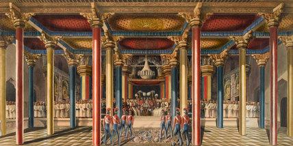 The Tanjore Durbar, 1840