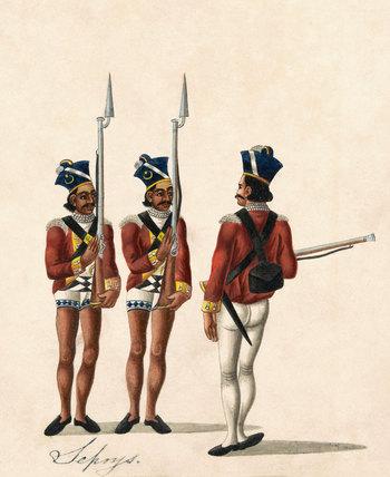 Indian Sepoys, 1815 (c)
