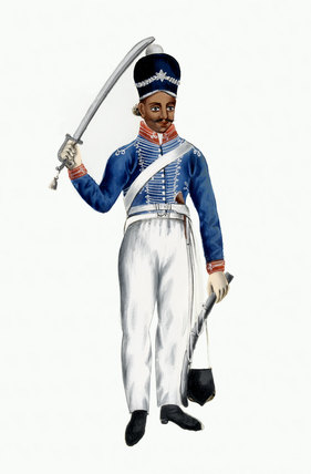 Light Cavalry, Madras Army, 1830 (c)